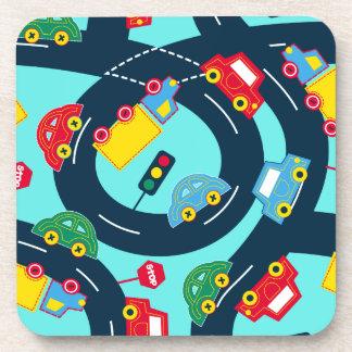 Posavasos Tráfico de la calle
