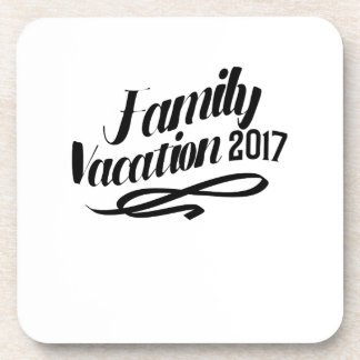 Posavasos Vacaciones de familia divertidas de las vacaciones