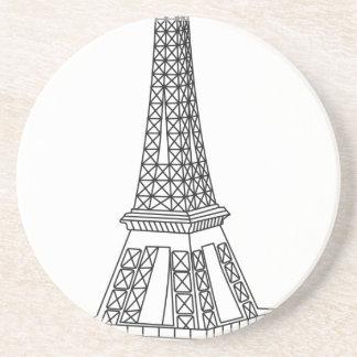 Posavasos viaje Eiffel