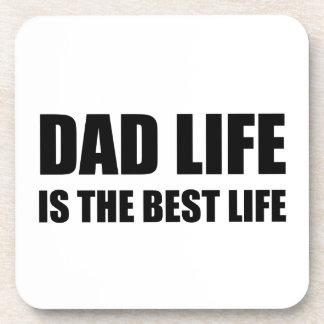 Posavasos Vida de la vida del papá la mejor