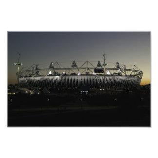 Posluminiscencia del estadio Olímpico Fotos
