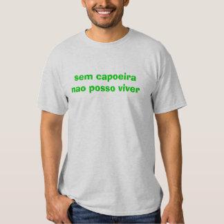 posso Viver del Ordenador nacional del capoeira de Camisas