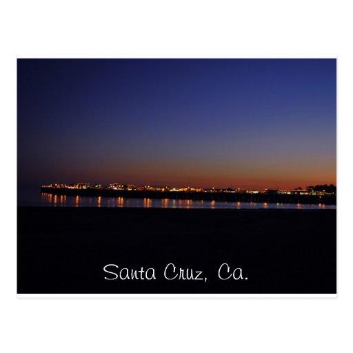 Postacrd de Santa Cruz Postal
