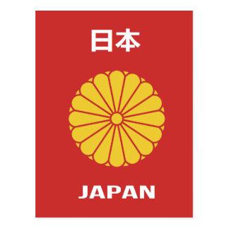 Postal - 日本 - 日本人 japonés