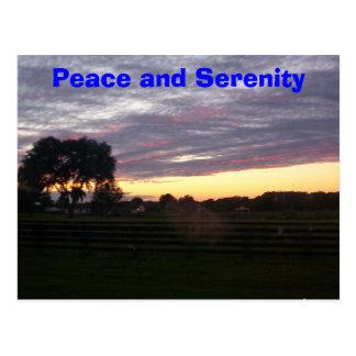 Postal 100_0287, paz y serenidad