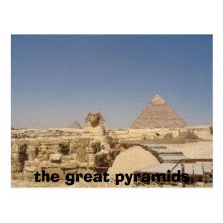 Postal 1145422, las grandes pirámides