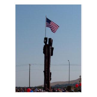 Postal 11 de septiembre monumento en Kennewick Washington