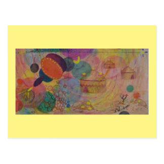 Postal 12 del arte: Fantasty orgánico - ACEITE