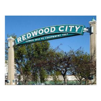 Postal 150o aniversario de Redwood City