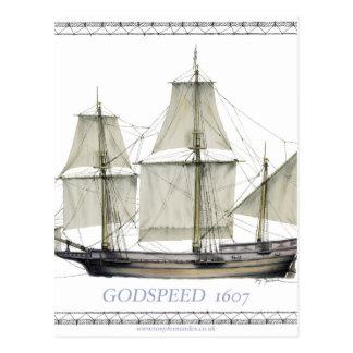Postal 1607 godspeed