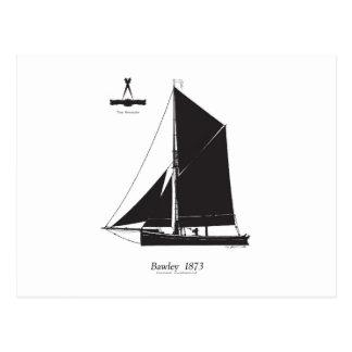 Postal 1873 Bawley - fernandes tony