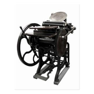 postal 1888 de la prensa de copiar