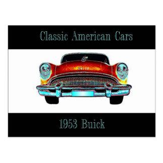 Postal 1953 de Buick