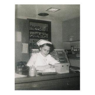 POSTAL 1956 ENFERMERA #11