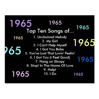 Postal 1965 canciones