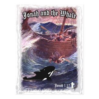 Postal 1:17 de Jonah - Jonah y la ballena