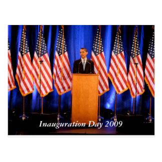 Postal 2009 del día de inauguración