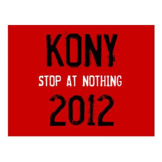 Postal 2012 de Kony