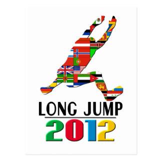 Postal 2012: Salto de longitud