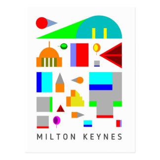 Postal 2016 del diseño de Miton Keynes