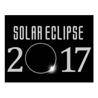 Postal 2017 del eclipse solar