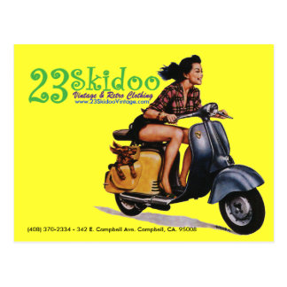Postal 23 SkiPostcard