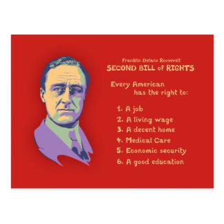 Postal 2do Declaración de Derechos