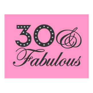 Postal 30 y regalo fabuloso