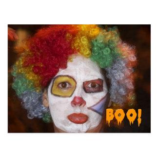 Postal 3 del retrato de Halloween