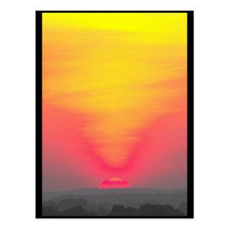 Postal ~ 43 de la puesta del sol