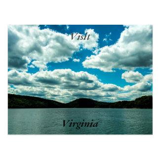 Postal 4 de Virginia de la visita