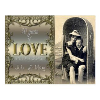 Postal 50 años de amor