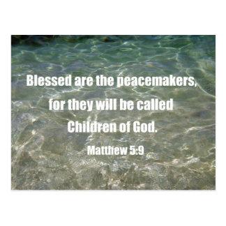 Postal 5:9 de Matthew