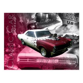 Postal 67 GTO - Serie clásica del coche