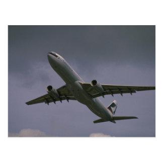 Postal A330 Airbus, avión de pasajeros de Cathay Pacific