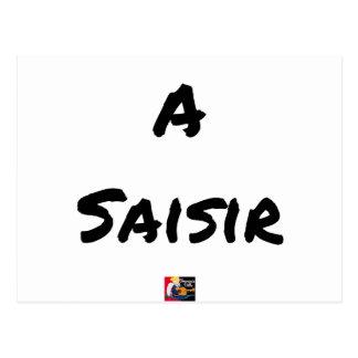 Postal A CONSULTAR - Juegos de palabras - a a Francois