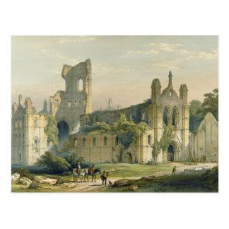 Postal Abadía de Kirkstall del noroeste, 'del lunes