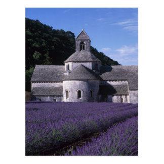 Postal Abadía de Senanque, Gordes, Vaucluse, Provence, 2