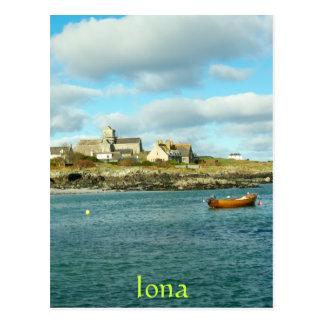 Postal Abadía Escocia de Iona