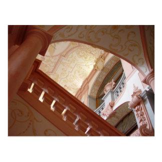 Postal Abadía Melk interior, Austria de Melk