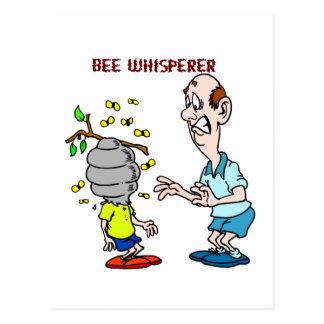Postal Abejorro del Whisperer de la abeja de los amantes