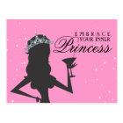 Postal Abrace a su princesa interna Funny Postcard