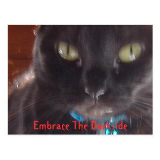 Postal Abrace el Darkside