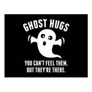 Postal Abrazos del fantasma
