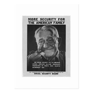 Postal Abuelo de la Seguridad Social, los años 30 -