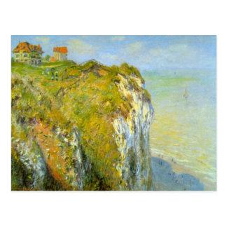 Postal Acantilados de Claude Monet
