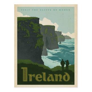 Postal Acantilados de Moher el | Irlanda