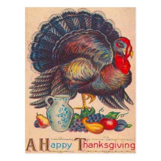 Postal Acción de gracias Turquía
