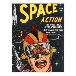 Postal Acción del espacio