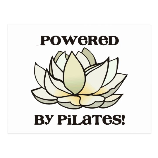 Postal Accionado por Pilates Lotus